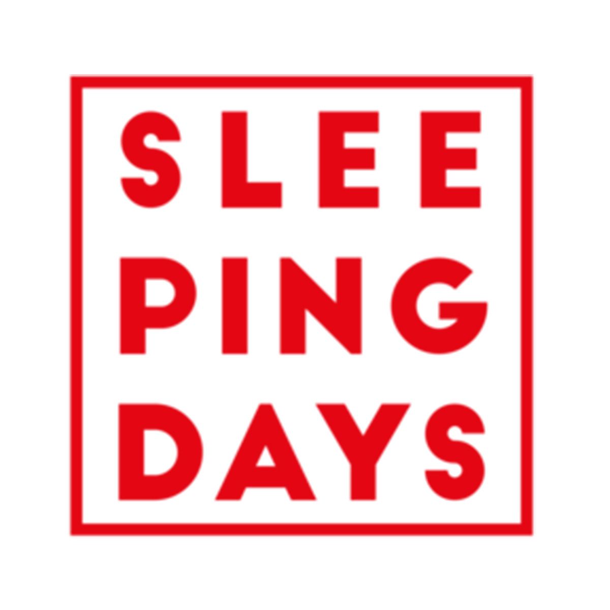 Logo-sleeping-days